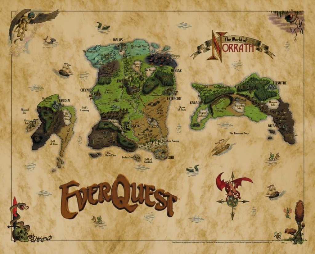 everquest map atlas eq maps norrath 3d continents fantasy staff cloth geography personalpages manchester ac still sword rpg cybergeography dodge