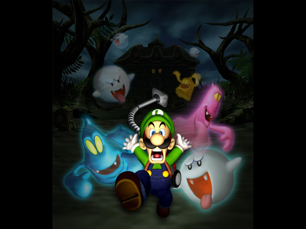 Luigis Mansion Wallpaper 800 X 600 1024 768