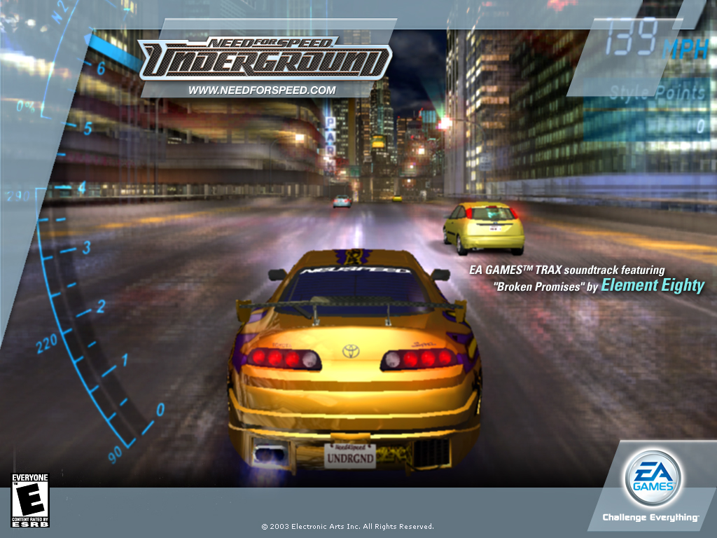 Need for Speed Underground Wallpapers - Download Need for Speed