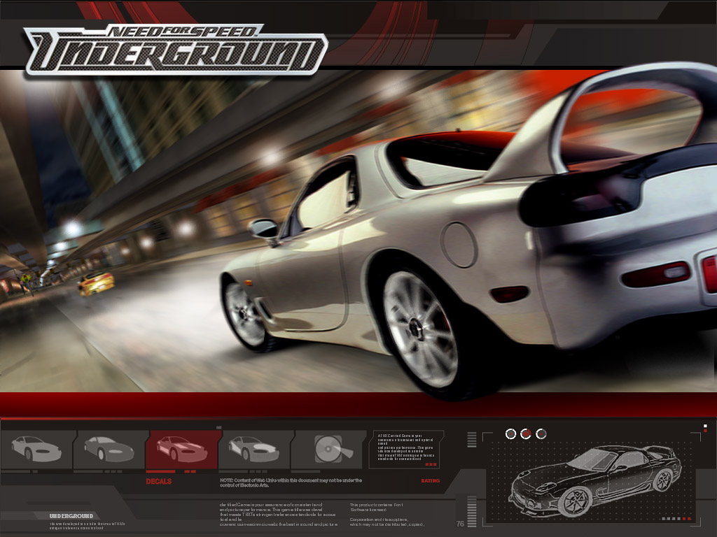Need For Speed Underground Wallpaper 800 X 600 1024 768