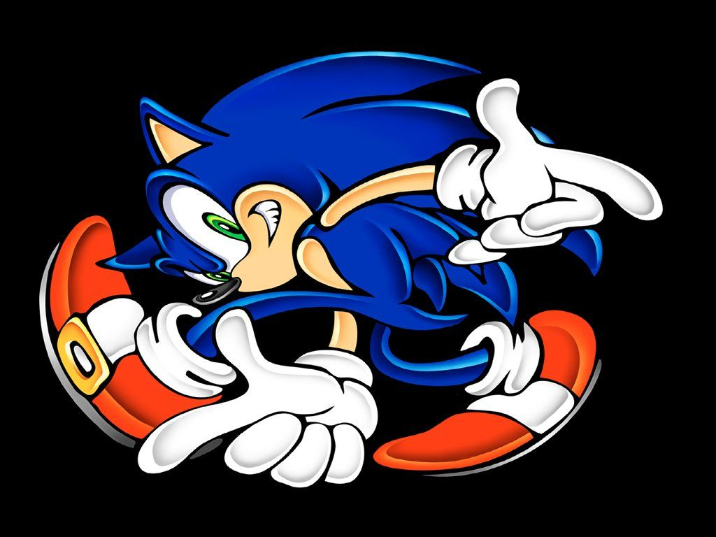Gambar Wallpaper Kartun Sonic Kampung Wallpaper