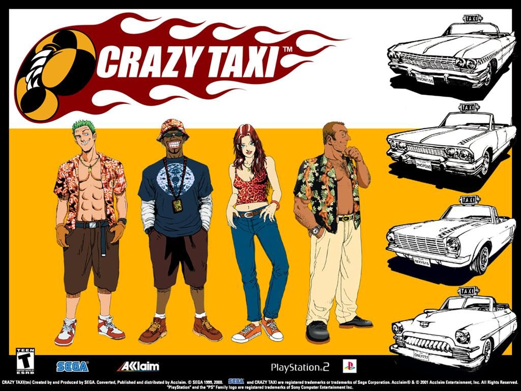 Crazy taxi wallpapers download crazy taxi wallpapers crazy.