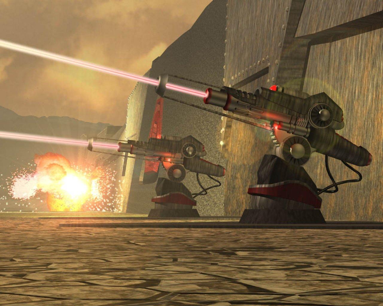 Laser gun game online