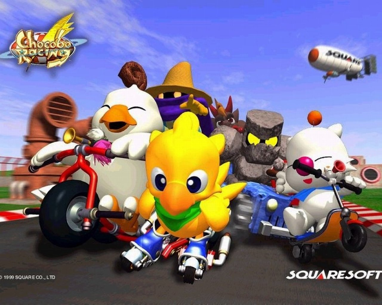Chocobo Racing Wallpapers - Download Chocobo Racing