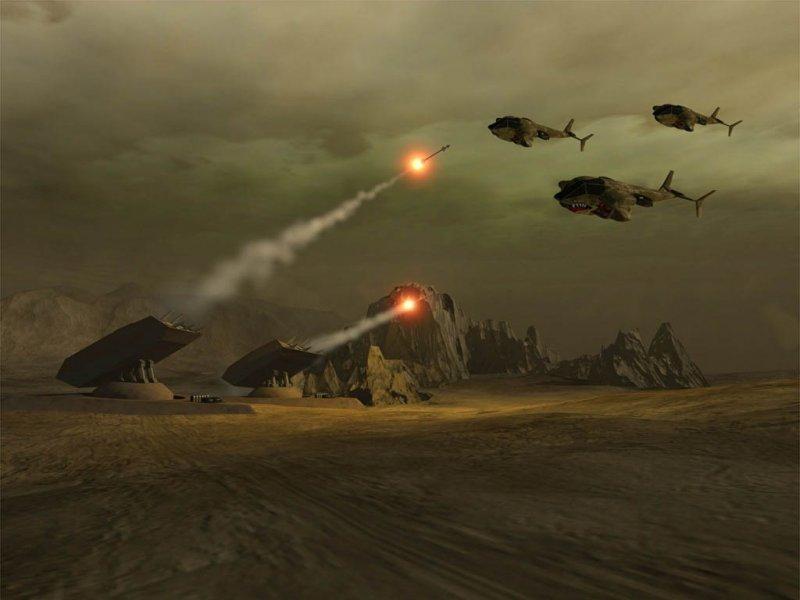 орнитоптерам пришли педальные вертолеты, а катапульты заменили соник-танки.  Теперь на главный план стали выходить...