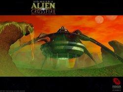 Alien Crossfire wallpaper