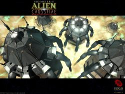Alien Crossfire wallpaper