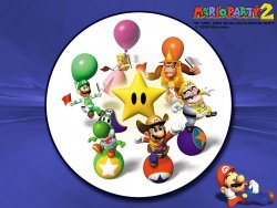 Mario Party2 wallpaper
