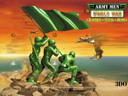Army Men wallpaper