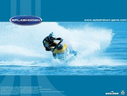 Splashdown wallpaper