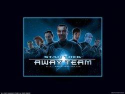 Startrek Away Team wallpaper