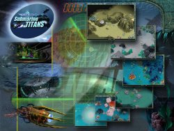 Submarine Titans wallpaper