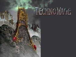 Technomage wallpaper
