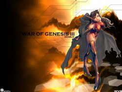 War of Genesis3 wallpaper