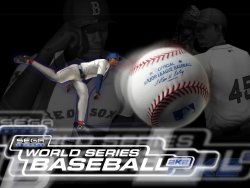 World series Baseball 2k2 wallpaper
