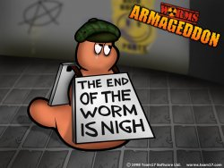 Worms wallpaper