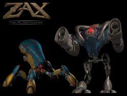 Zax the Alien Hunter wallpaper