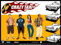 Crazy Taxi wallpaper